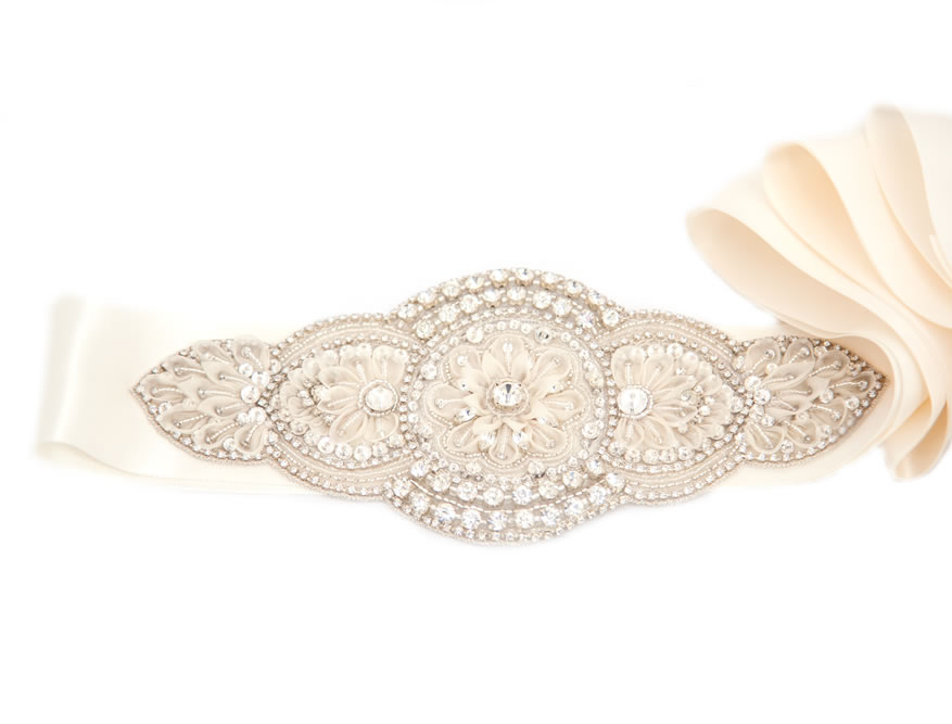 luxe bridal belt, LHG Designs