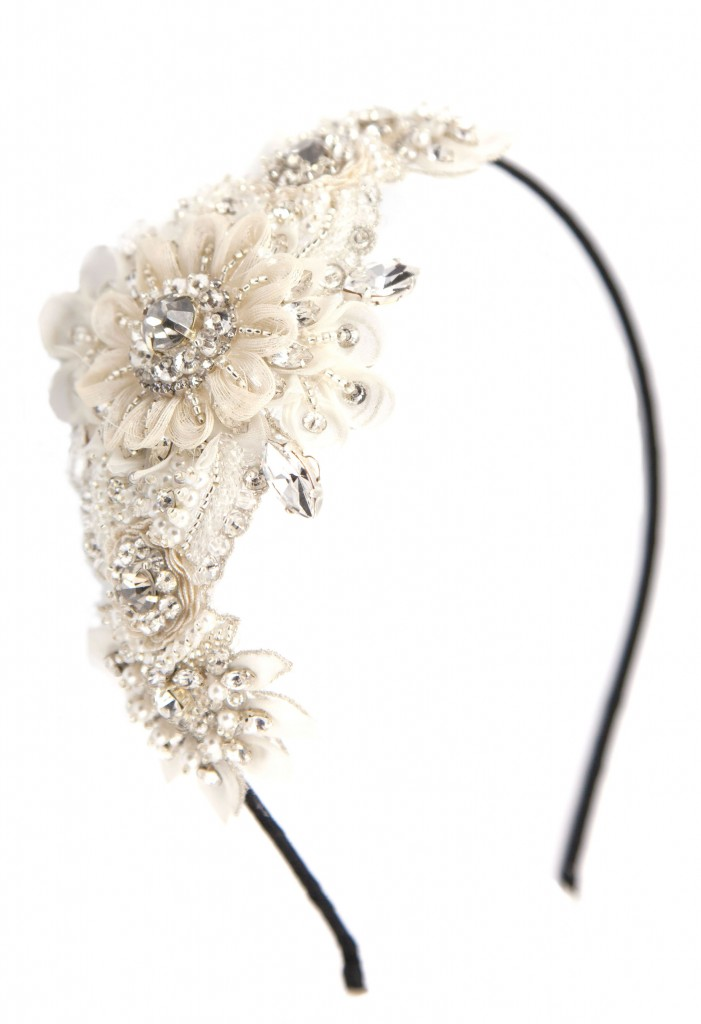 luxe spes headband, LHG Designs