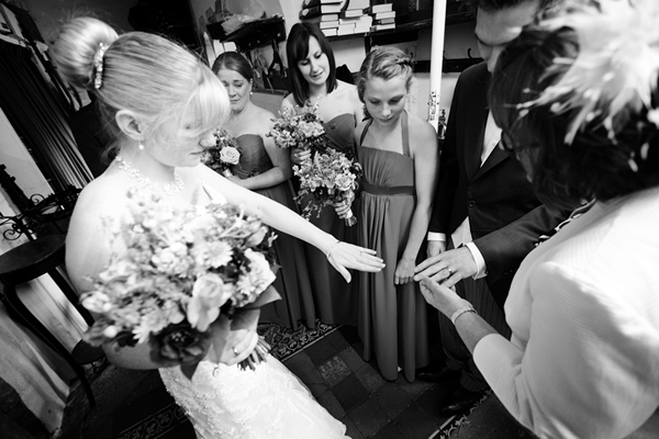 exchange of rings, wedding ceremony, david perkins wedding photography