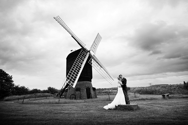 bride and groom, avoncroft museum, windmill, david perkins wedding photography