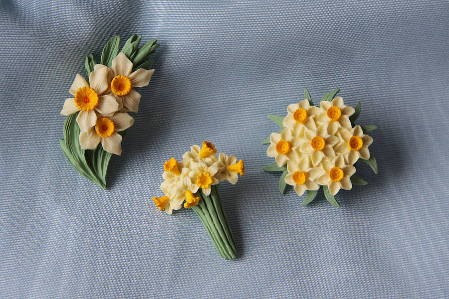 Good Intention NOTHS Daffodil Brooch