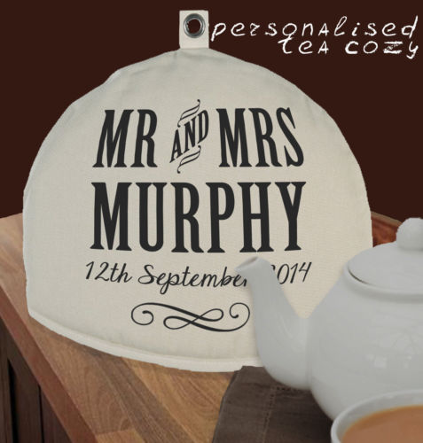 tea cosy, well personalised