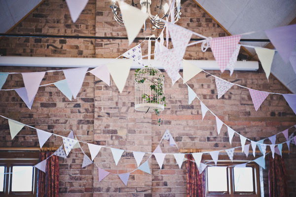 Cloud9-Wedding-Photography, cardlington village hall, bunting