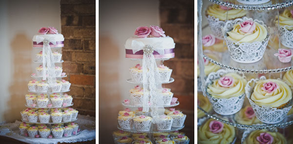 Cloud9-Wedding-Photography, DIY wedding cake, cupcake tower