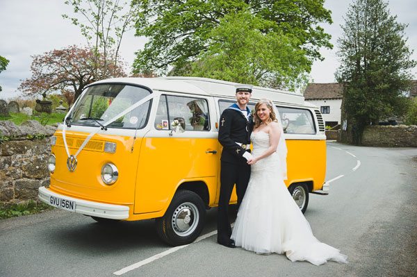 Cloud9-Wedding-Photography, bride and groom, vw camper van hire shpropshire, Bob