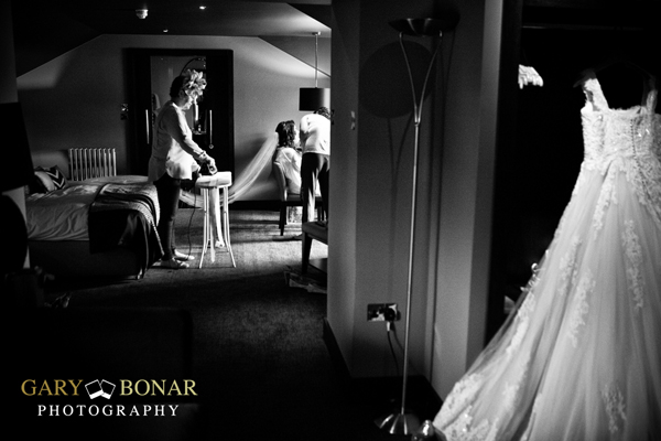 wedding preparation, gary bonar photography