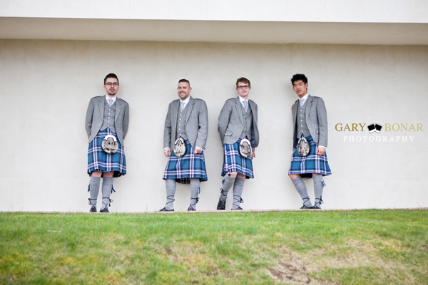 groom and groomsmen, gary bonar photo