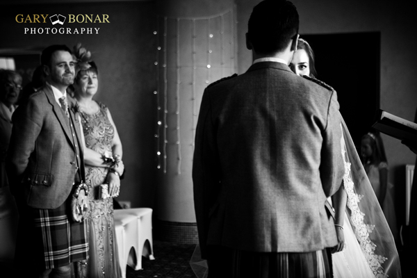 wedding ceremony, gary bonar photo