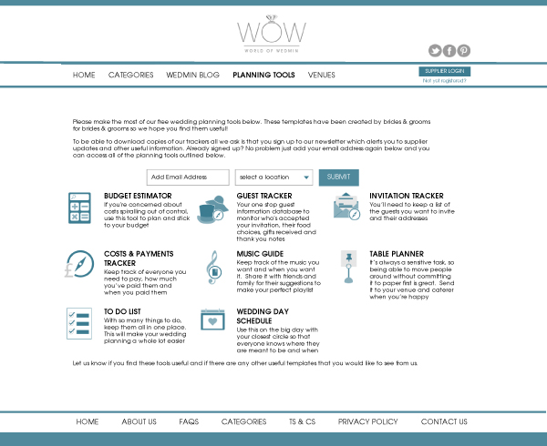supplier spotlightgetting know world wedmin comparison site wedding industry