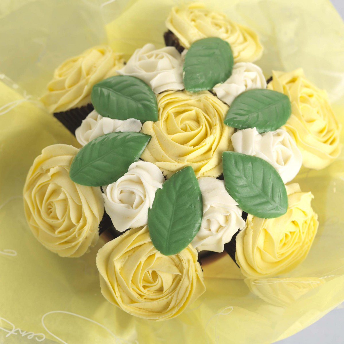 Say it with cake cupcake bouquets from cake cetera izmirmasajfo Choice Image