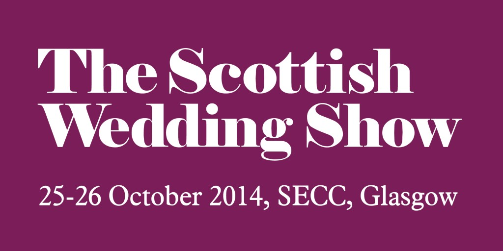 scottish wedding show logo , 25-26 October 2014
