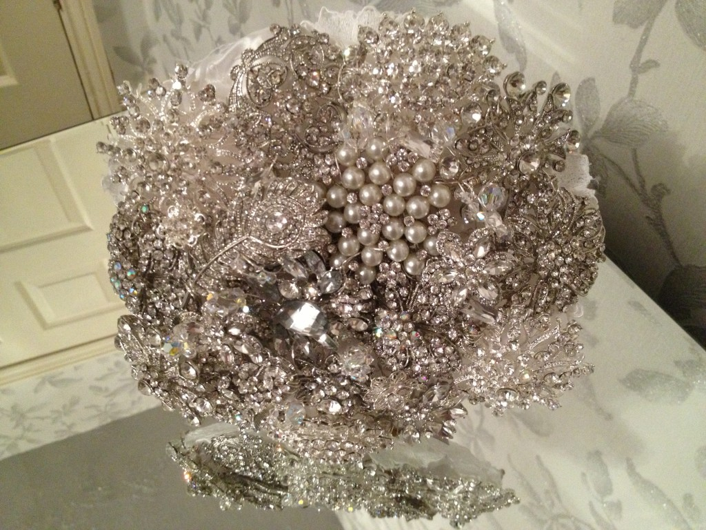 heirloom bouquet, Tiaras, Crowns, Bouquets, Jewellery, Sash Belts, perfect weddings by susan wilde, crystal wedding accessories