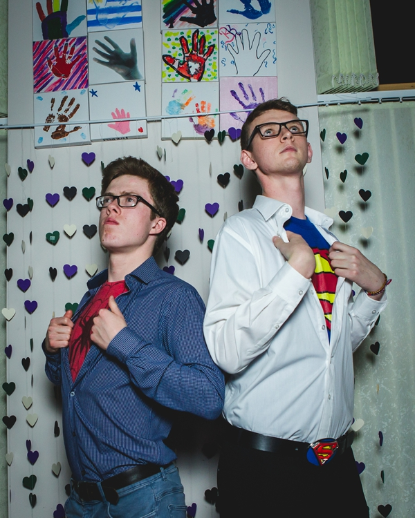 Diy superhero wedding