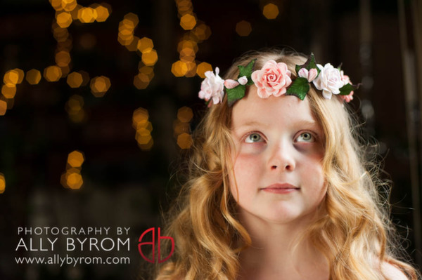 flower crowns, ally byrom photography, rose garden accessories , silk flowers