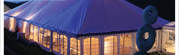 Bodmin Marquee Hire at Night, curious wedding experience , penganna manor
