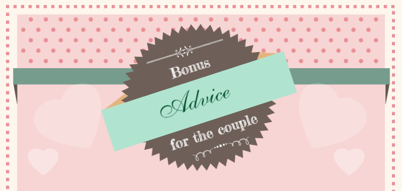 Bonus Advice for The Bride & Groom, wedding photography, wedding photography, bride and groom direct
