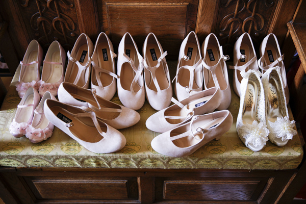 wedding shoes, silver photography