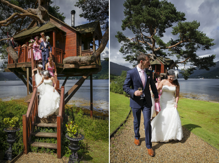 Wedding at the Lodge on Loch Goil