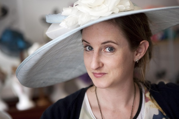 Holly Young Headwear, credit Simon Burt Photography, curious wedding experience , penganna manor