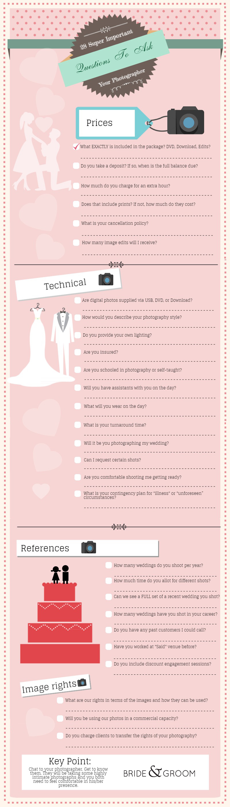 WEDDING-GRAPHIC, bride and groom direct, wedding photography questions, wedding photographer