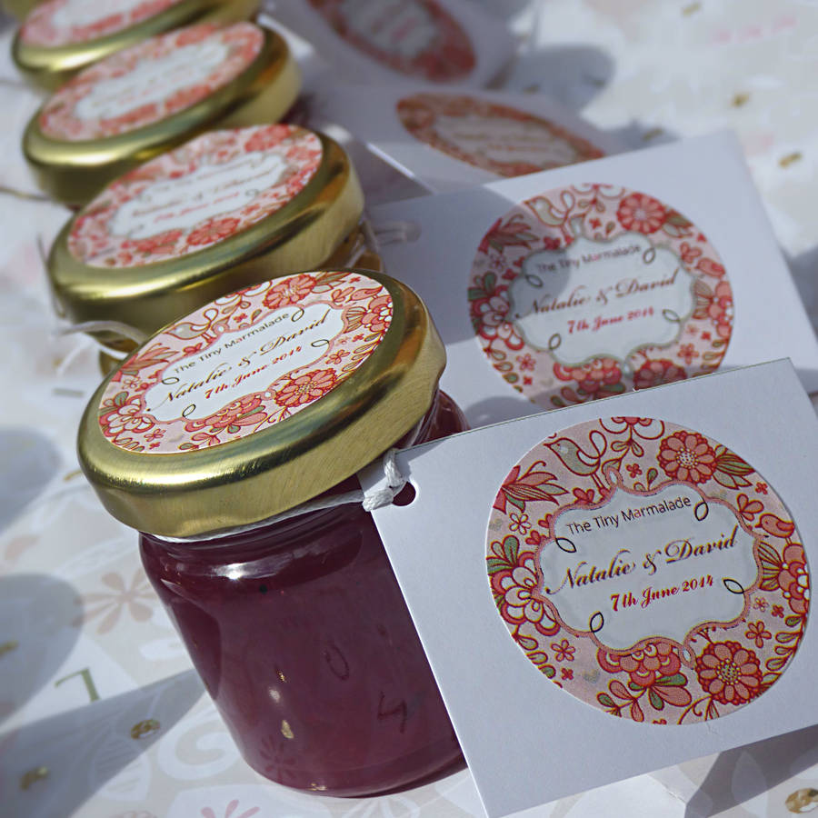 original_personalised-jam-jar-wedding-favour, the tiny marmalade , plum wedding theme