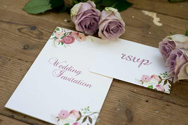 floral design, Yellowstone Paperworks, Contemporary Wedding Stationery, Image by Hollybooth Photography