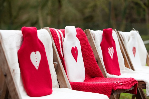 Ceremony Seating At The Summerhouse - Deer Park