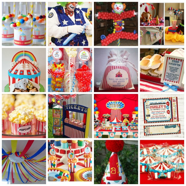 A Year of Creativity 2014 , Big Top Birthday, Childrens Circus Party Theme, Circus Party Theme styling, Circus Party Theme ideas, Circus Party Theme moodboard