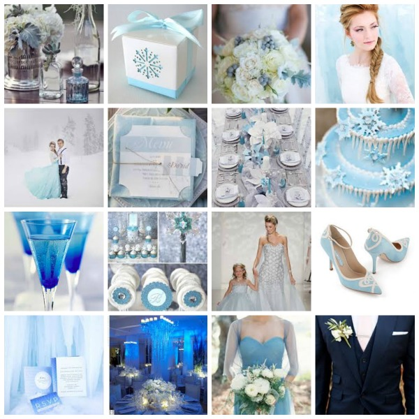 A Year of Creativity 2014, Frozen inspired Wedding Theme, Frozen inspired Wedding Theme moodboard, Frozen inspired Wedding Theme styling, Frozen inspired Wedding Theme tips