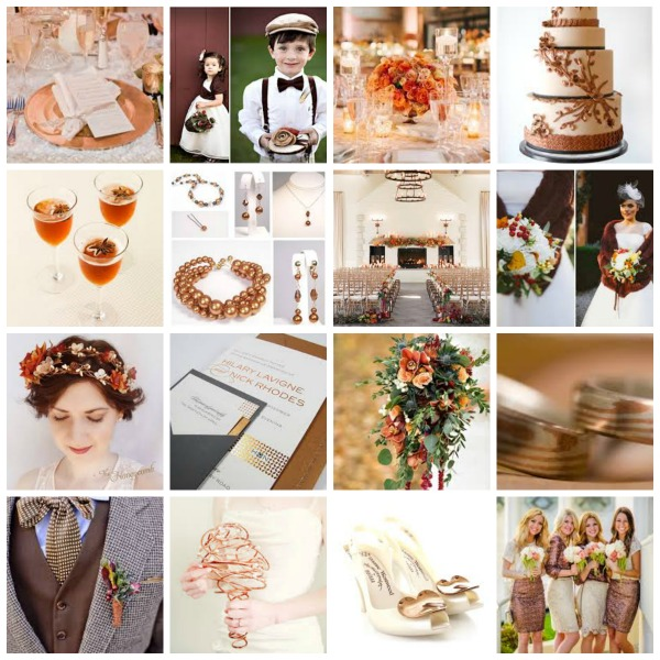 copper theme wedding, copper theme wedding inspiration, copper theme wedding moodboard, copper theme wedding styling, copper theme wedding ideas