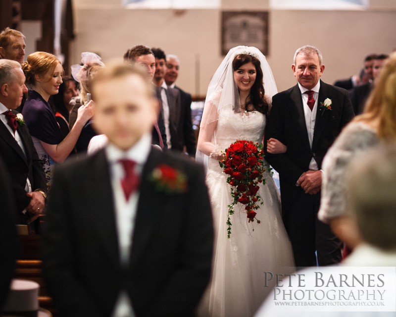 Wedding Photography at Abbeywood Estate, pete barnes photo , church processional