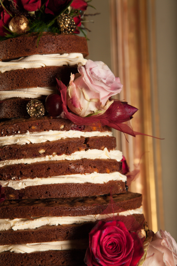 Anna's Bakes,  naked wedding cakes, naked brownie cake
