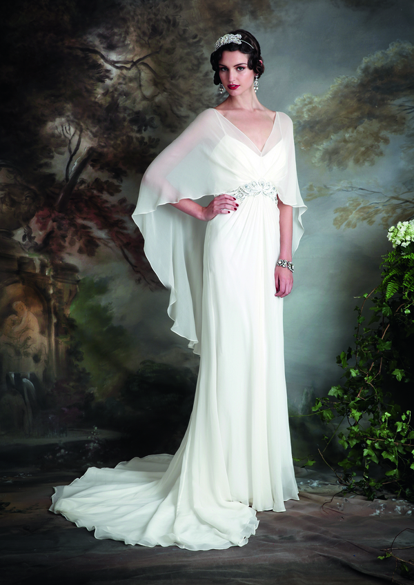 madelaine dress, eliza jane howell,  vintage inspired wedding dresses, debutante collection, Photography - Chris Dawes