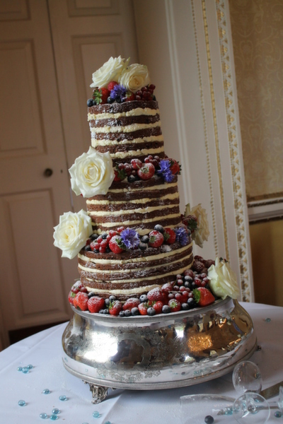brownie naked cake , Anna's Bakes , naked wedding cakes