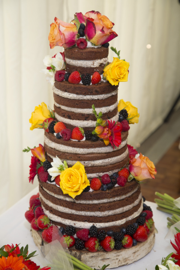 naked wedding cakes, anna's bakes, naked cake