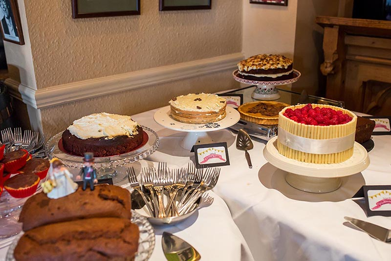 nick rutter photo, wedding reception, moldy fig, cake table