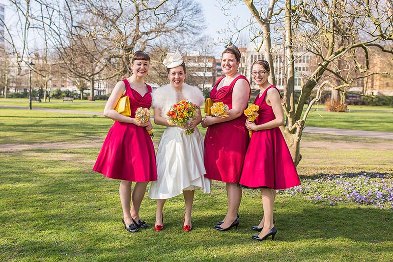A gorgeous southampton art gallery and moldy fig wedding for Lindy bop wedding dress