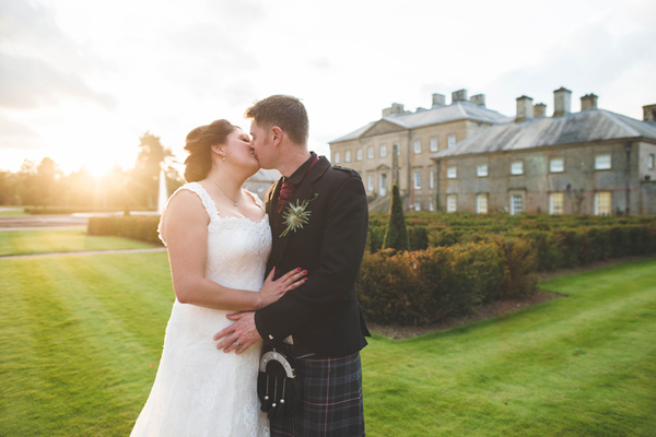A Stunning Autumn Wedding At Dumfries House With Sassi Holford Dress