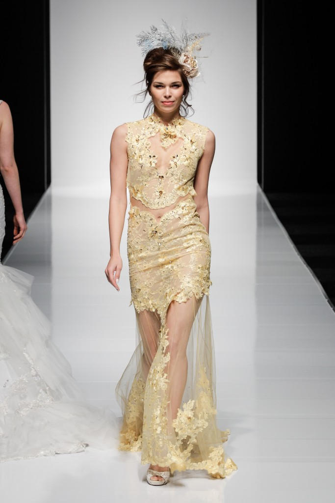 Anna Romysh Haute Couture at White Gallery London 2015, image - chris dadey