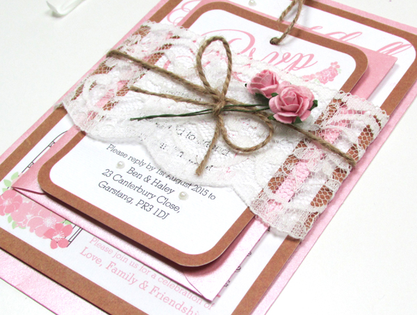 Beautiful Handmade Wedding Stationery By Sally Wendy