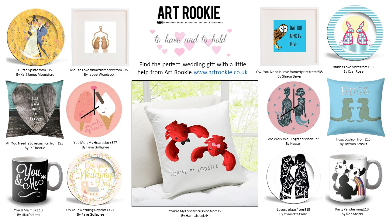 Perfect Wedding Gift Ideas: Find Perfect Wedding Gifts With Art Rookie