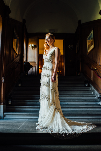 Tom Cairns Photography, Rowallan Castle, Opus Atelier, Badgley Mischka