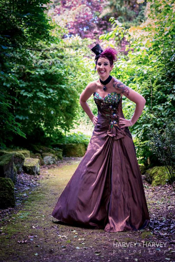 harvey-and-harvey-photography-rock-your-wedding-dress-shoot-stoke-rochford-hall-steampunk-wedding-inspiration-dolls-mad-hattery-charlotte-wesson-hair-paula-tennant-MUA (21)