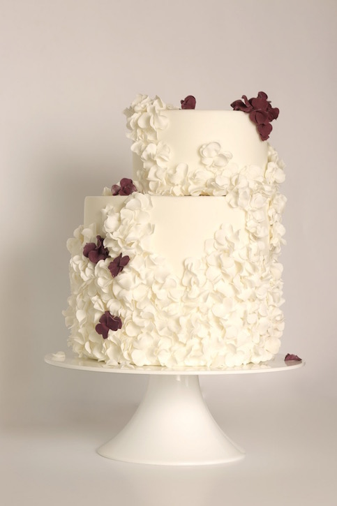 fallen blossoms cake, image by PJ Phillips