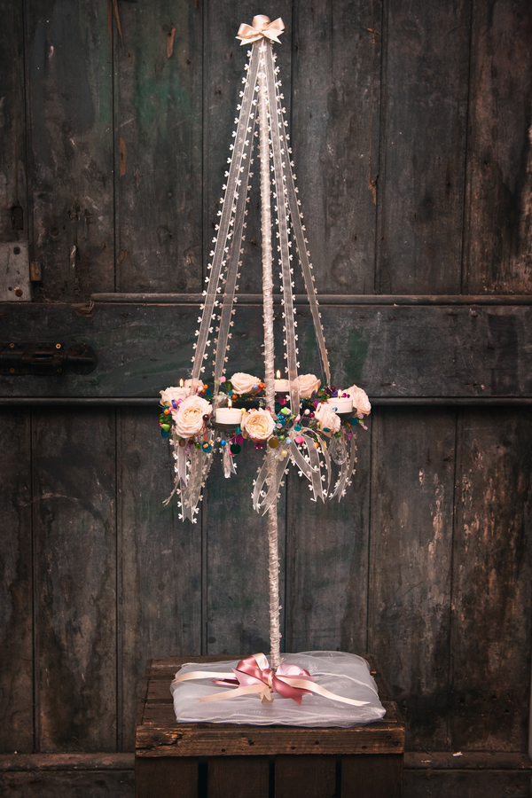 get-knotted, maypole_charmed_chandeliers, credit - Borders Photography