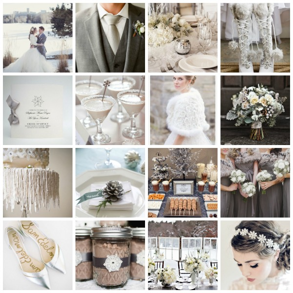 Frost A Winter Wedding Theme Moodboard And Styling Ideas Uk