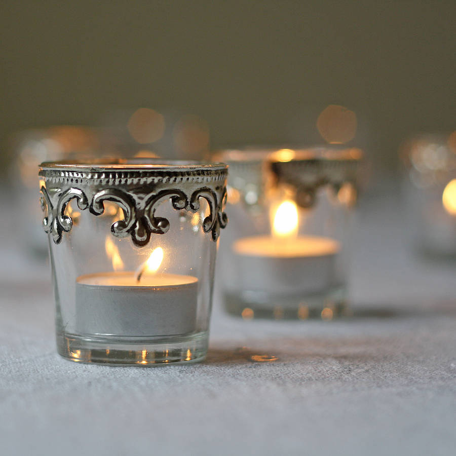 the-wedding-of-my-dreams, set-of-two-silver-and-glass-tea-light-holders, winter wedding theme