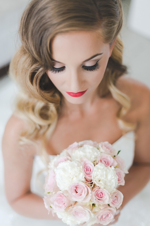 Hollywood Glamour Bridal Makeup : Bridal Beauty Looks in Hair and Makeup for 2016 by Team ...
