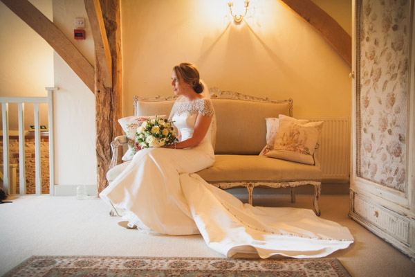 Upwaltham Barns Wedding | FitzGerald Photographic, winter wedding, justin alexander dress