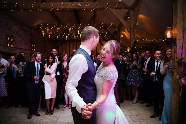 Upwaltham Barns Wedding | FitzGerald Photographic, winter wedding, first dance